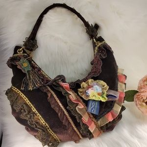 VINTAGE NICOLE LEE COLLECTION SHOULDER BAG